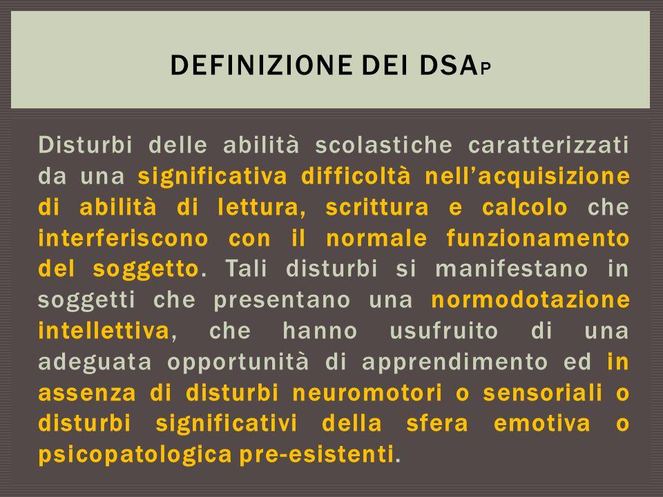 Definizione dei DSAp