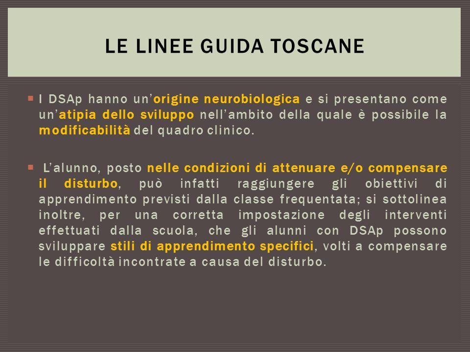 Le Linee Guida Toscane