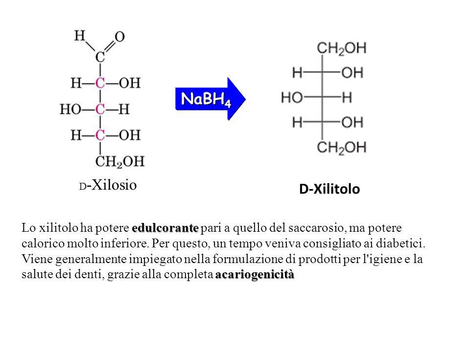 NaBH4 D-Xilitolo.