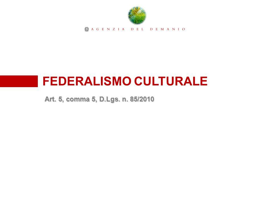 FEDERALISMO CULTURALE
