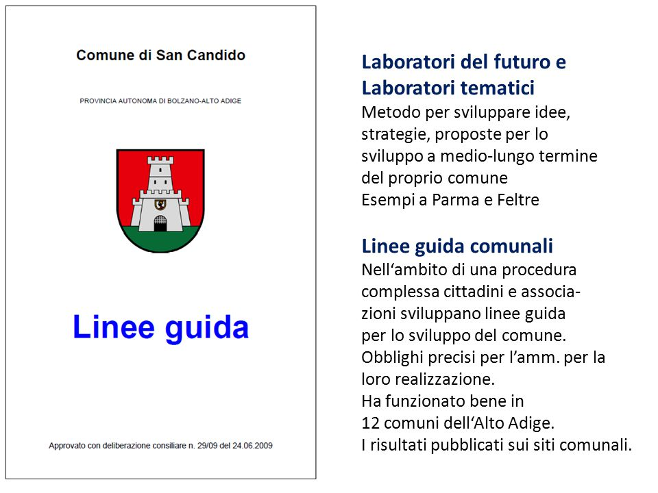 Laboratori del futuro e Laboratori tematici