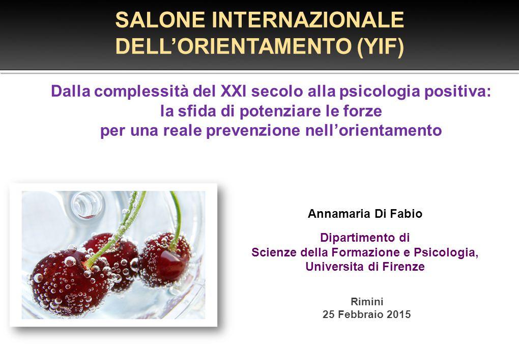 SALONE INTERNAZIONALE DELL'ORIENTAMENTO (YIF)