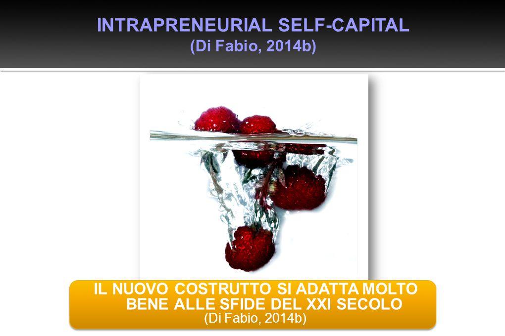 INTRAPRENEURIAL SELF-CAPITAL