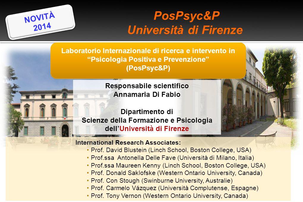 PosPsyc&P Università di Firenze