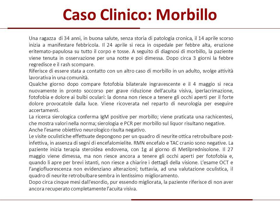 Caso Clinico: Morbillo