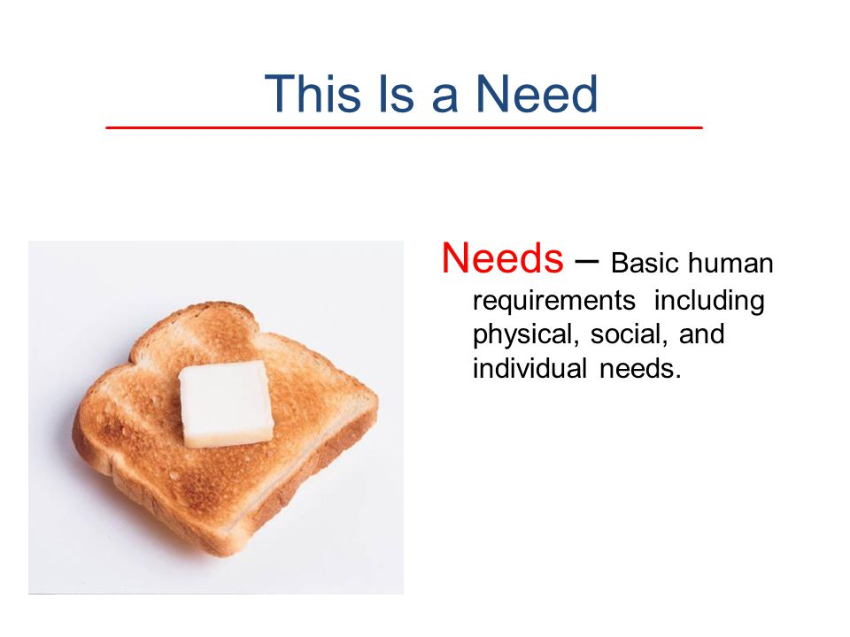 This Is a Need Needs – Basic human requirements including physical, social, and individual needs.