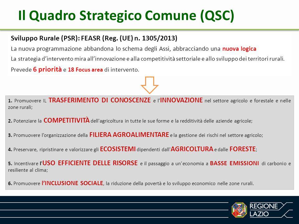 Il Quadro Strategico Comune (QSC)