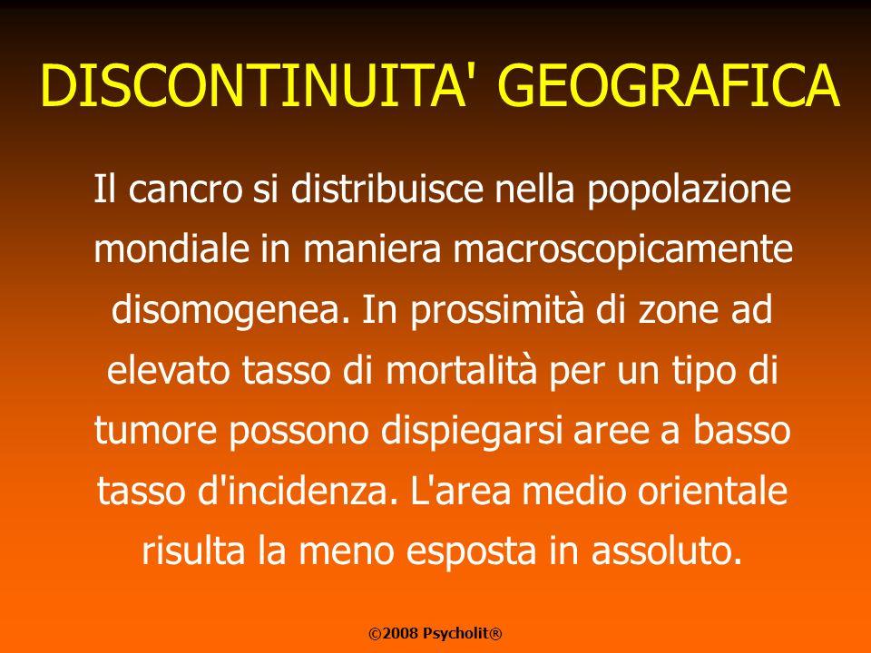 DISCONTINUITA GEOGRAFICA