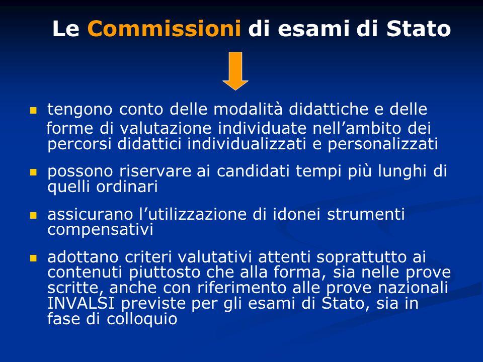 Le Commissioni di esami di Stato