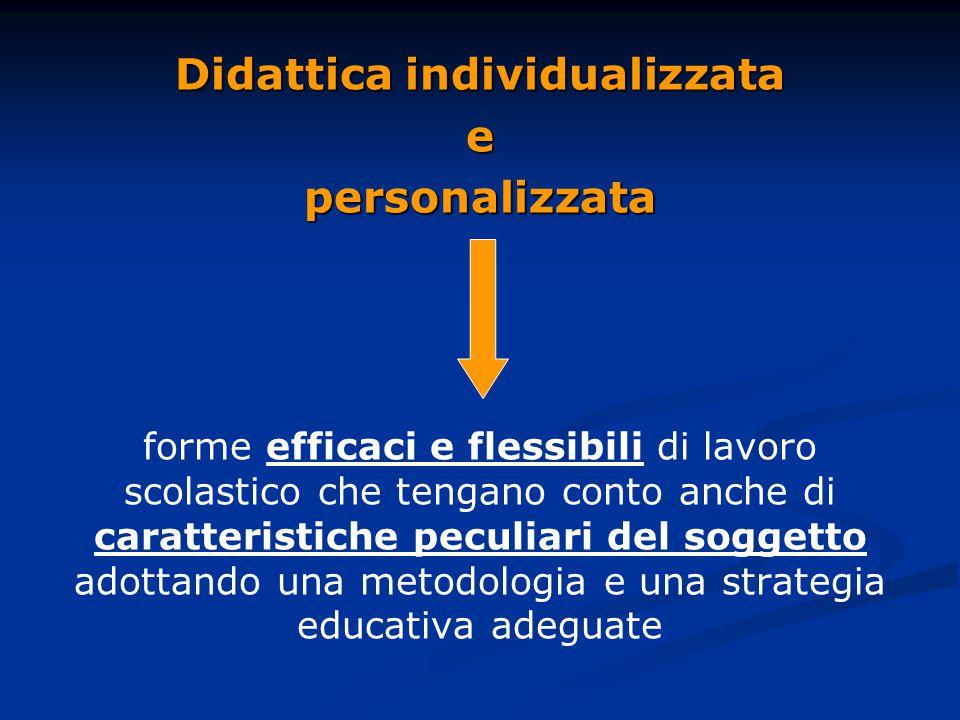 Didattica individualizzata