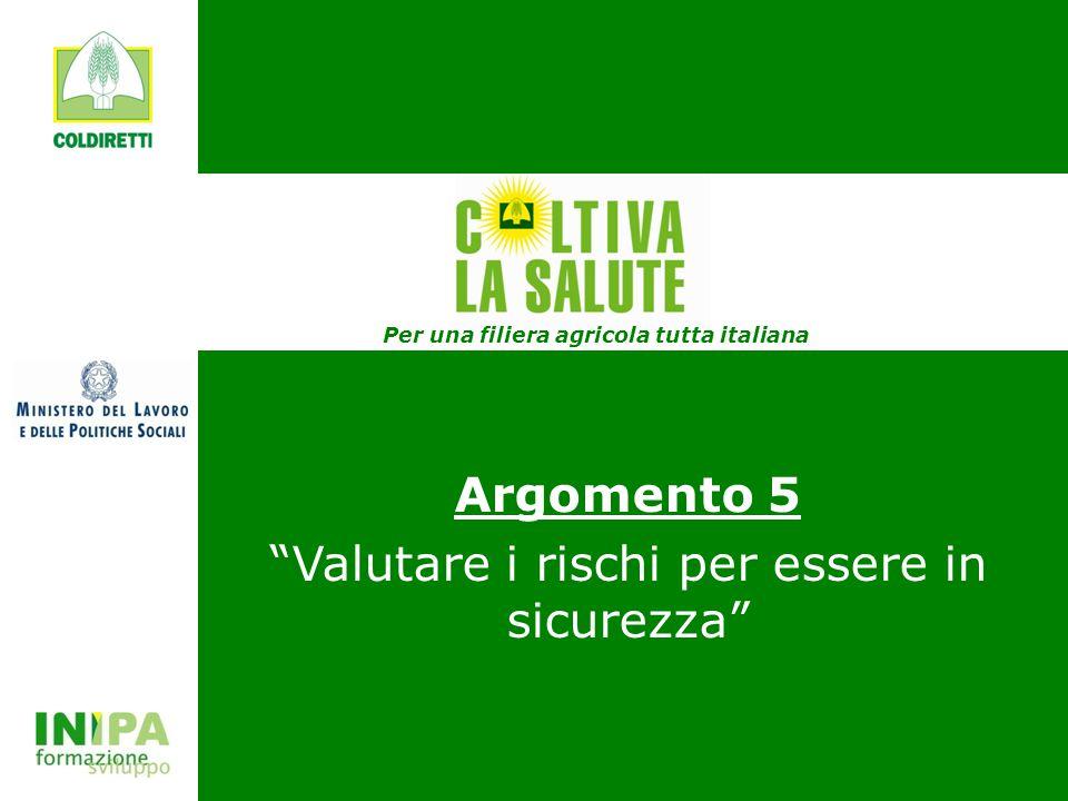 Per una filiera agricola tutta italiana