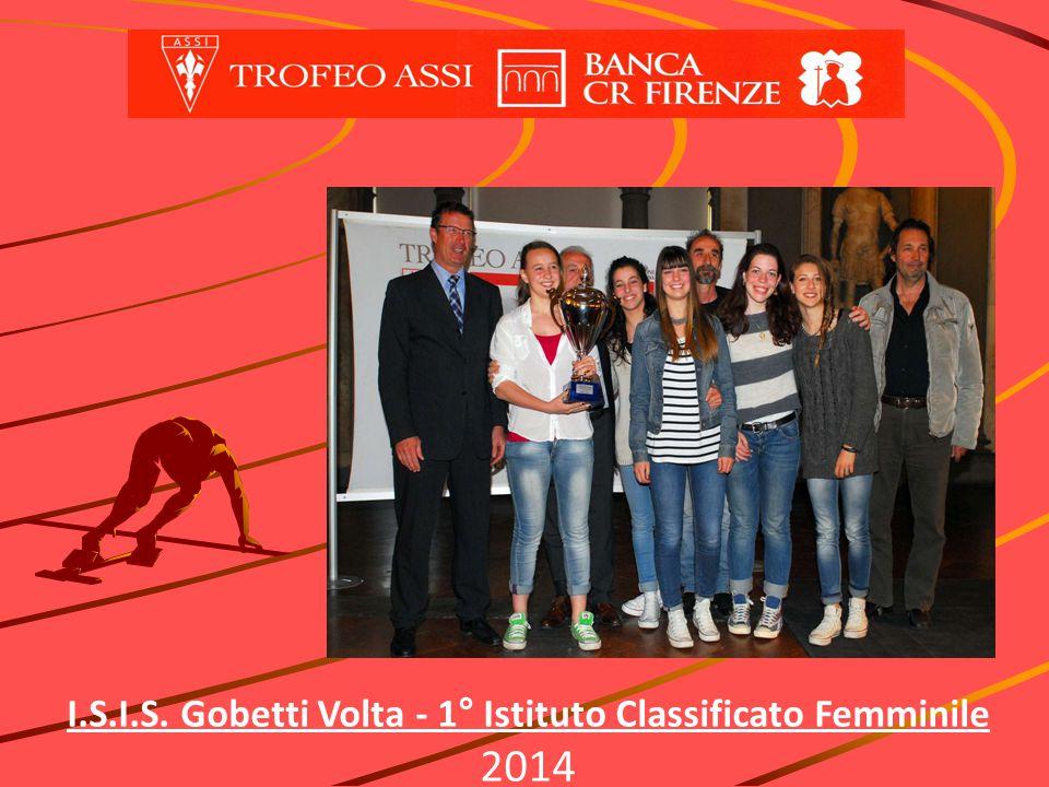I.S.I.S. Gobetti Volta - 1° Istituto Classificato Femminile