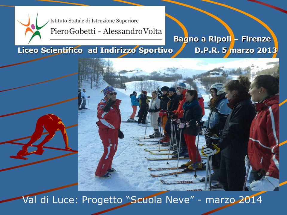 Val di Luce: Progetto Scuola Neve - marzo 2014