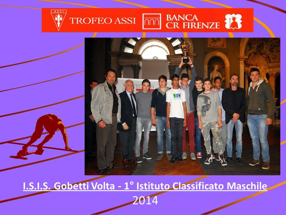 I.S.I.S. Gobetti Volta - 1° Istituto Classificato Maschile