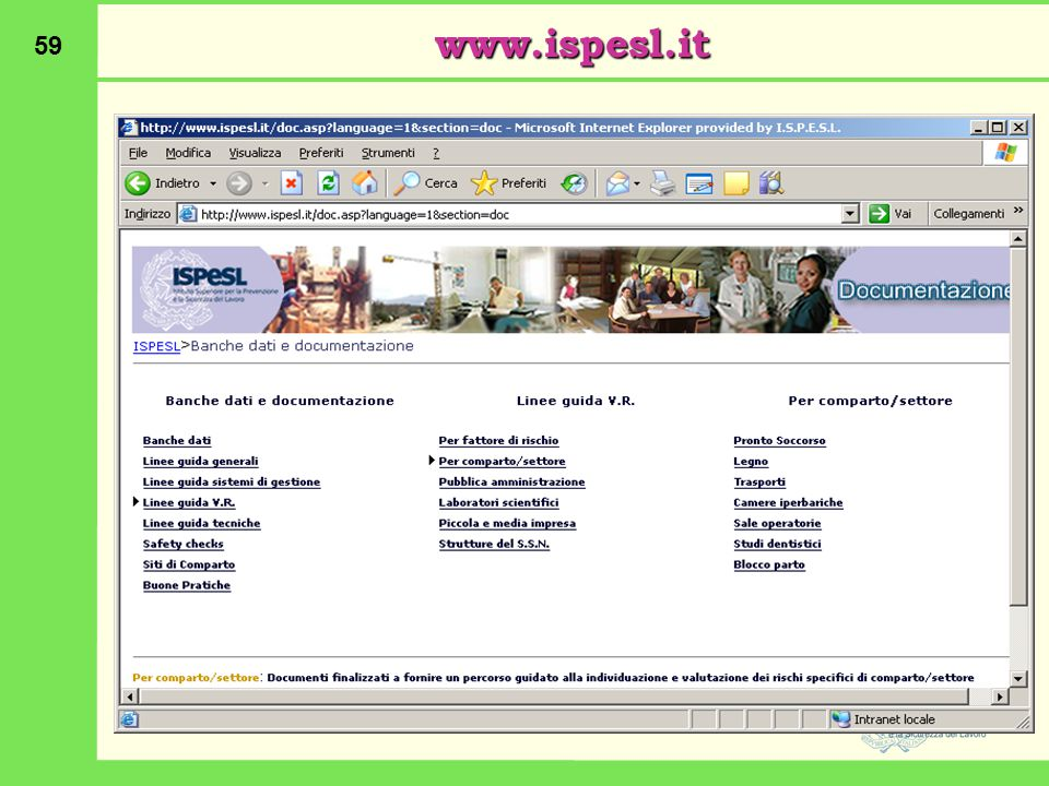 www.ispesl.it