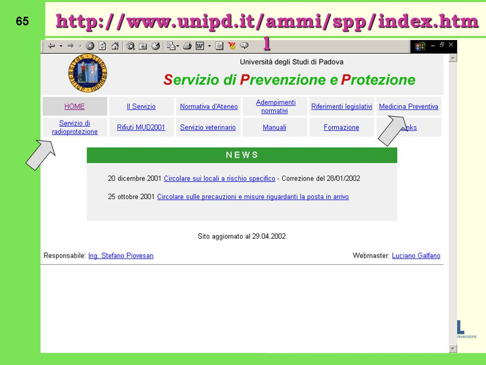 http://www.unipd.it/ammi/spp/index.html