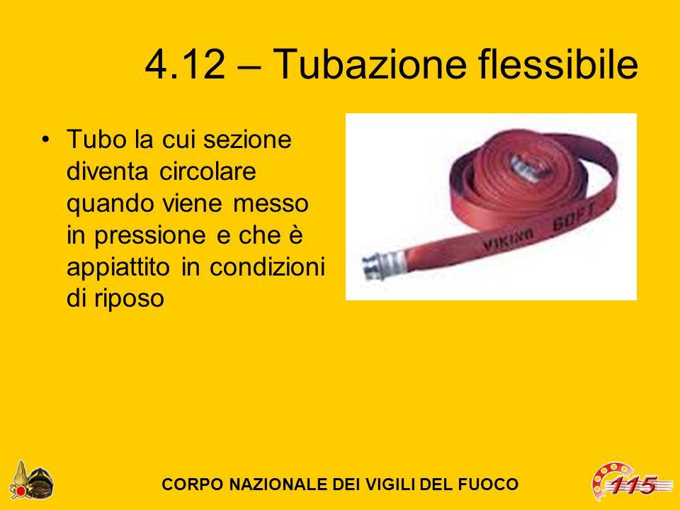 4.12 – Tubazione flessibile