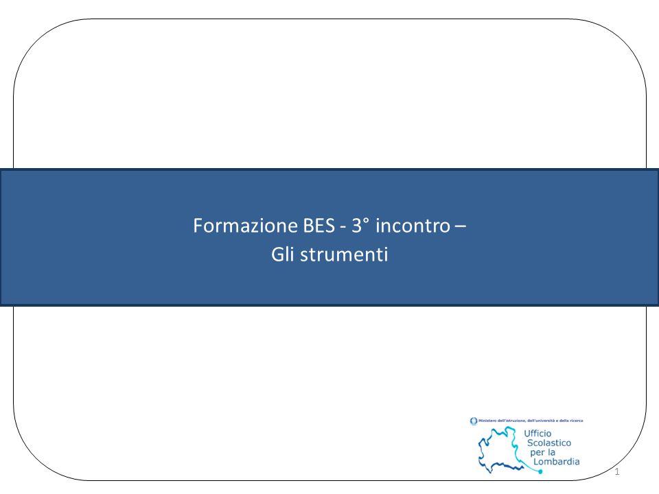 Formazione BES - 3° incontro –