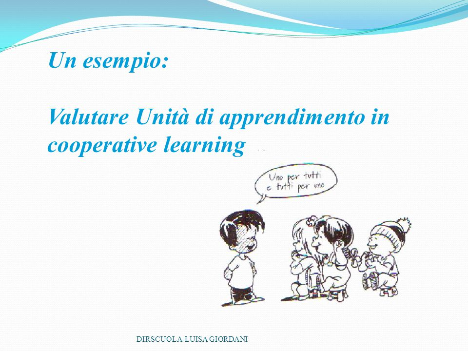 Valutare Unità di apprendimento in cooperative learning