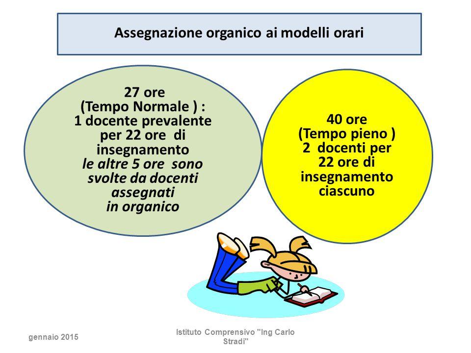 Assegnazione organico ai modelli orari