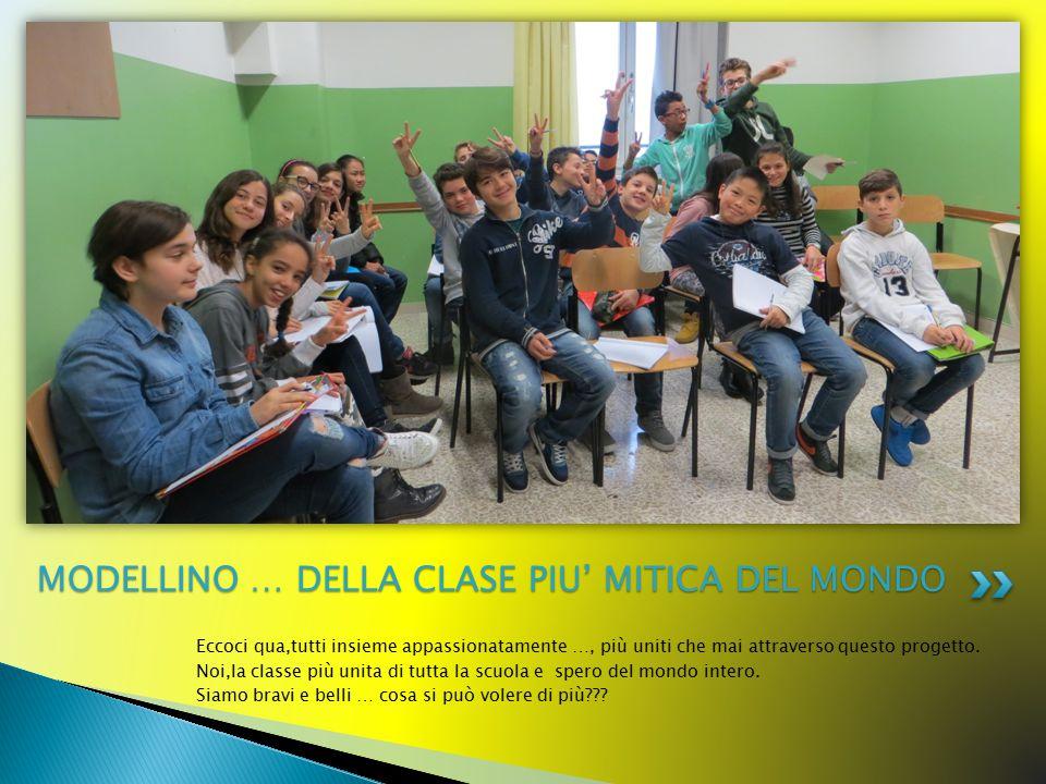 MODELLINO … DELLA CLASE PIU' MITICA DEL MONDO