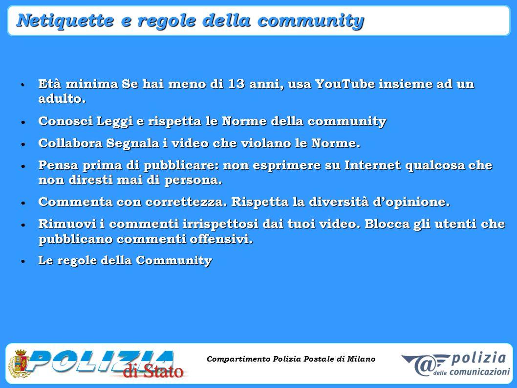 Netiquette e regole della community