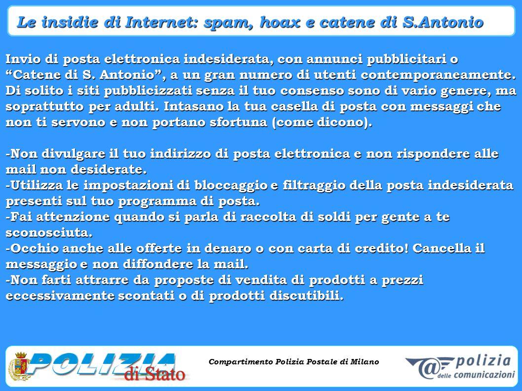 Le insidie di Internet: spam, hoax e catene di S.Antonio