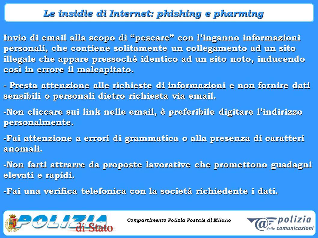 Le insidie di Internet: phishing e pharming