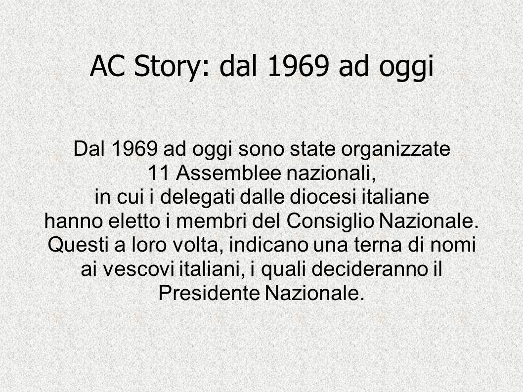 AC Story: dal 1969 ad oggi Dal 1969 ad oggi sono state organizzate