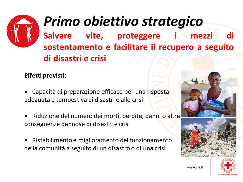 Primo obiettivo strategico