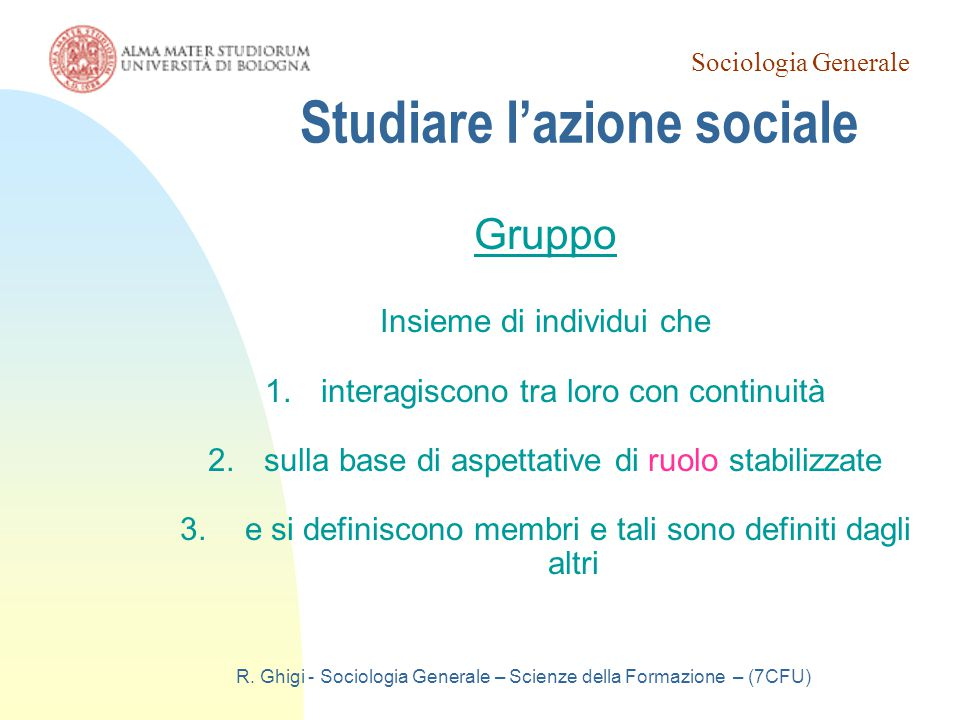 Studiare l'azione sociale