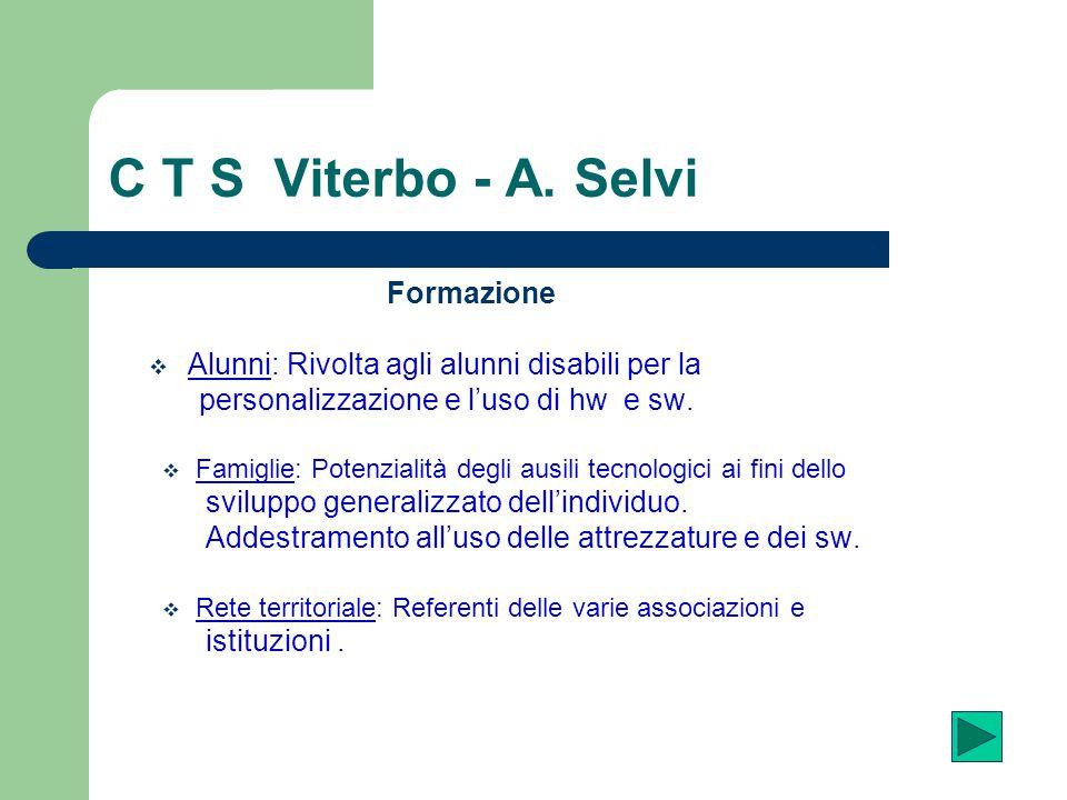 C T S Viterbo - A. Selvi Formazione
