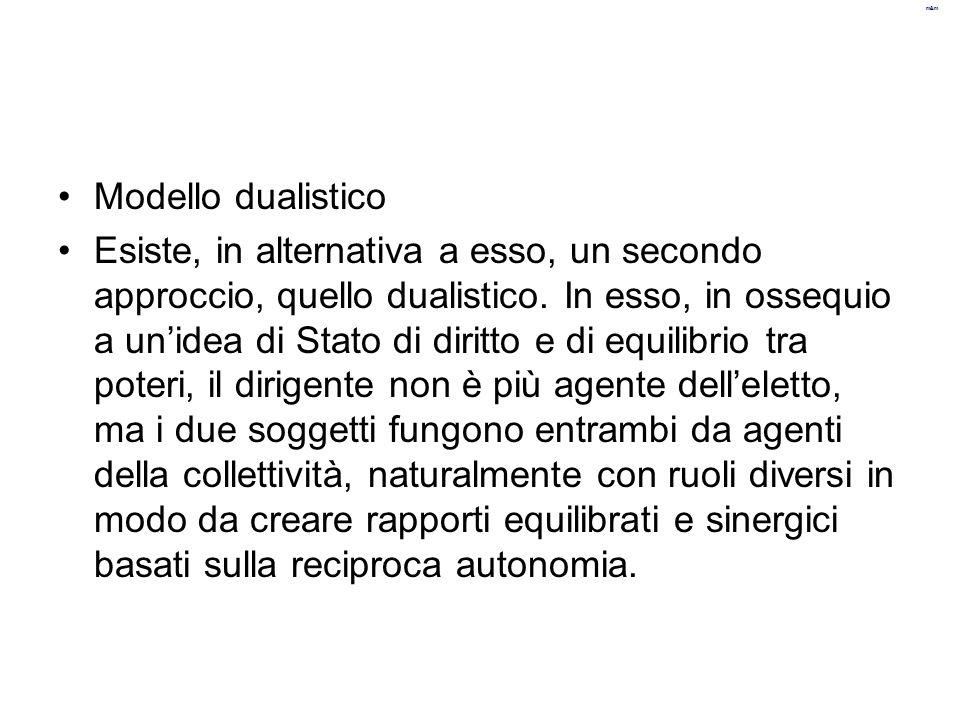 Modello dualistico