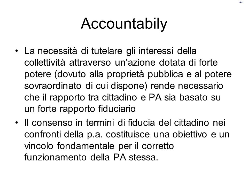 Accountabily