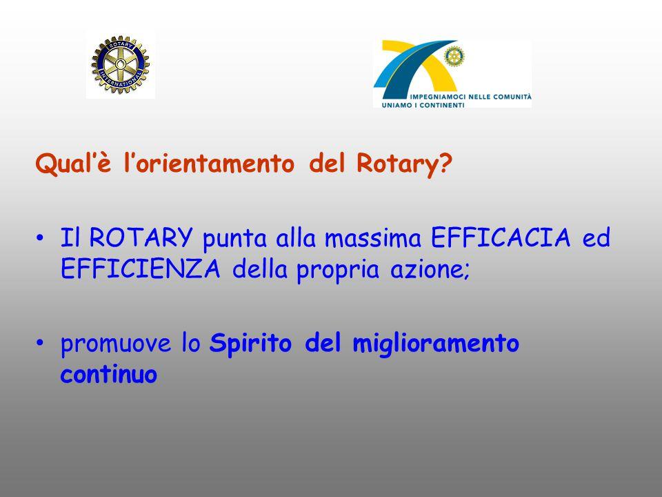 Qual'è l'orientamento del Rotary