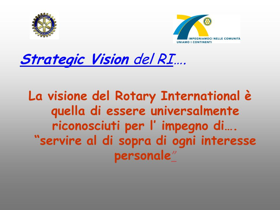 Strategic Vision del RI….