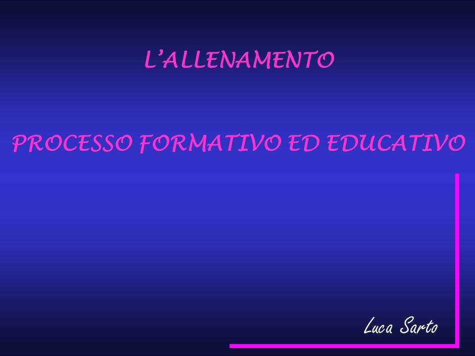 PROCESSO FORMATIVO ED EDUCATIVO
