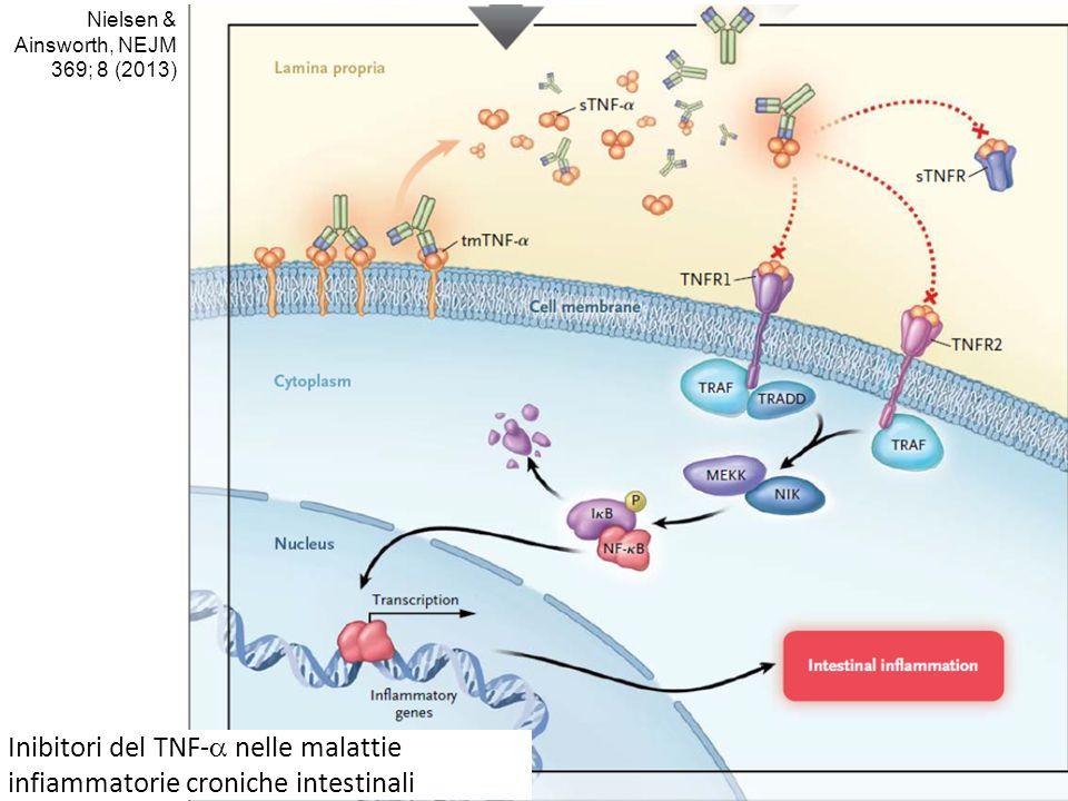 Inibitori del TNF-a nelle malattie infiammatorie croniche intestinali