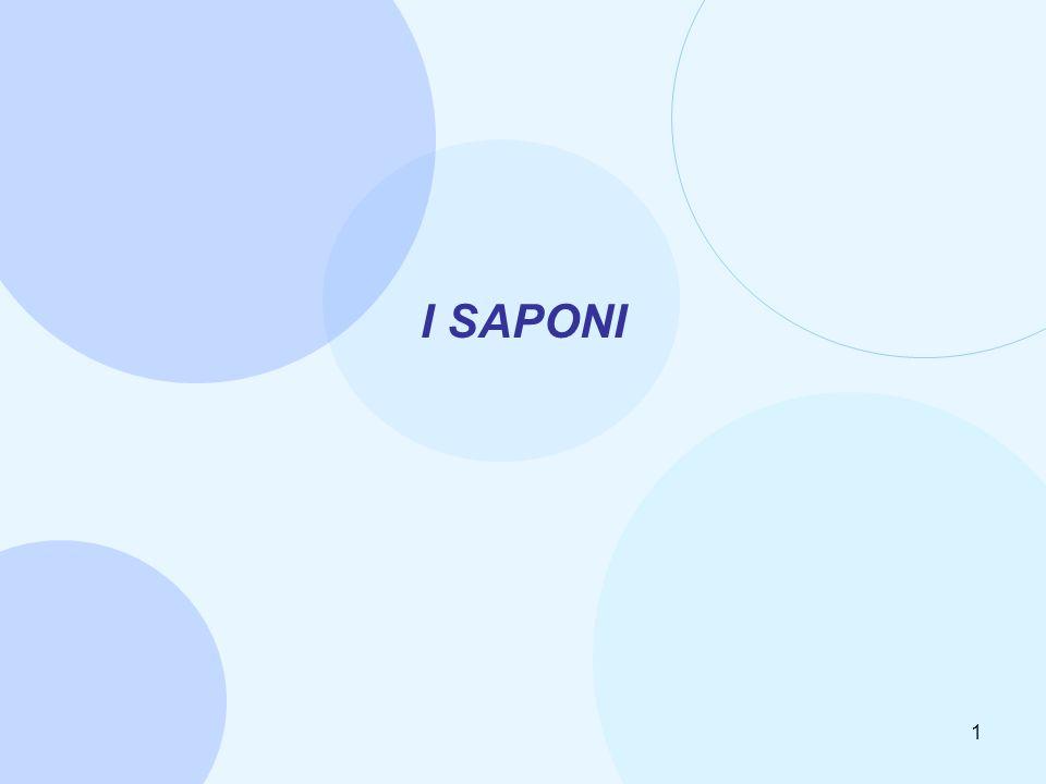 I SAPONI 1