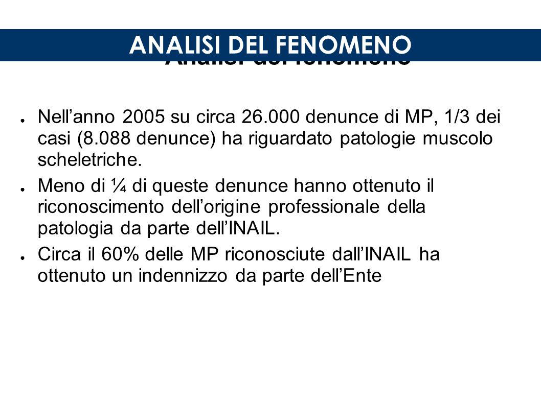Analisi del fenomeno ANALISI DEL FENOMENO