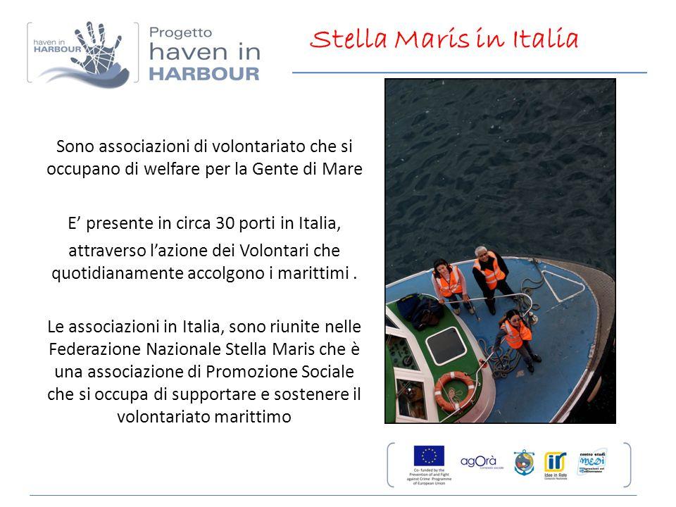 E' presente in circa 30 porti in Italia,