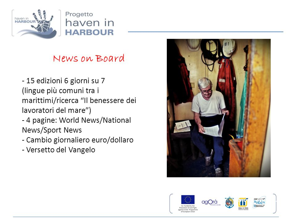 News on Board - 15 edizioni 6 giorni su 7