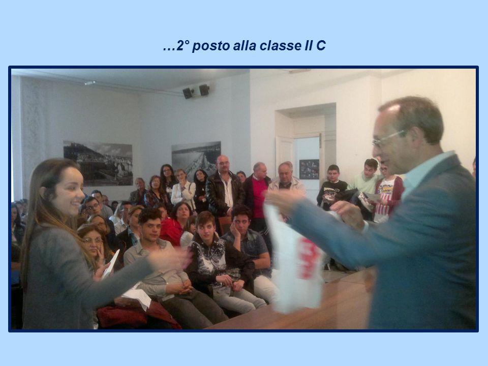 …2° posto alla classe II C