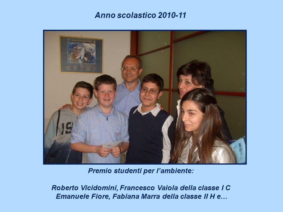 Anno scolastico 2010-11