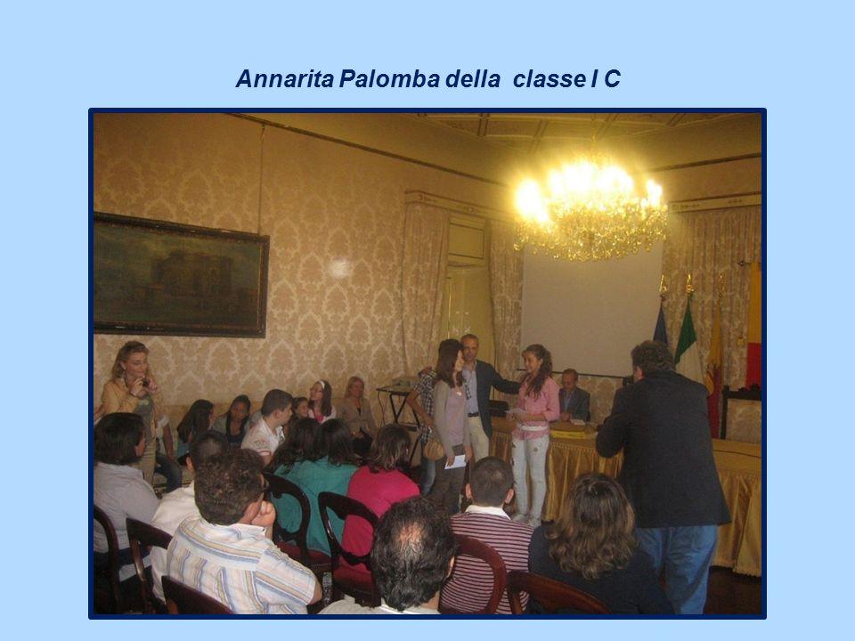 Annarita Palomba della classe I C