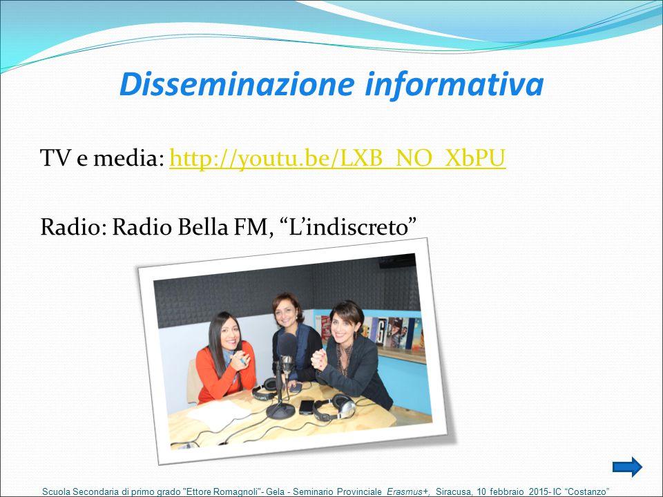 Disseminazione informativa