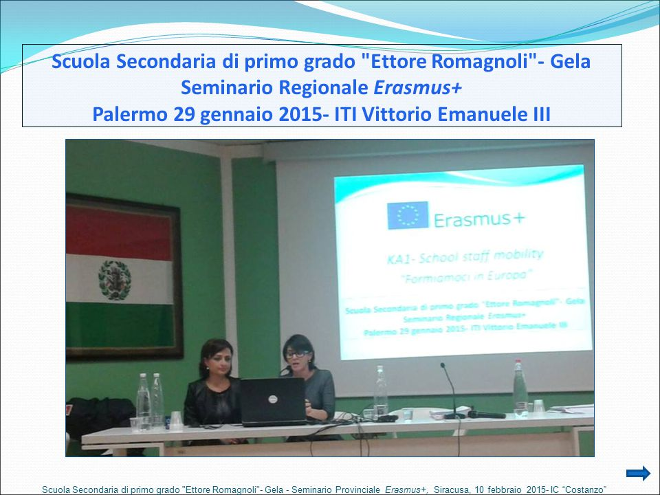 Scuola Secondaria di primo grado Ettore Romagnoli - Gela
