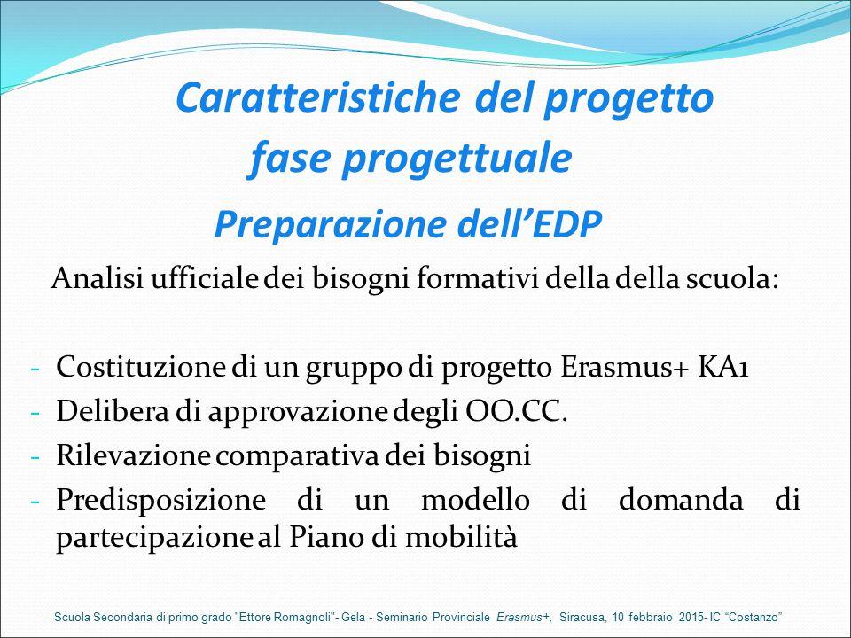 Preparazione dell'EDP