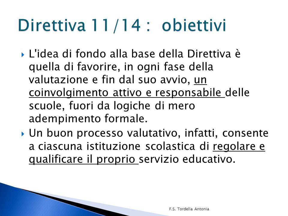 Direttiva 11/14 : obiettivi