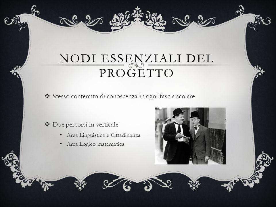 Nodi essenziali del progetto
